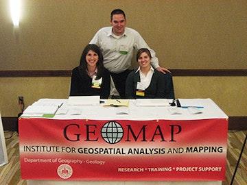 GEOMAP Information Stand