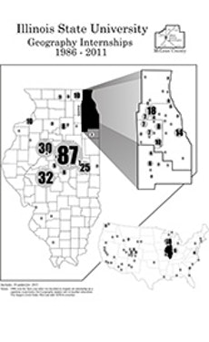 Illinois Geography Internships Map