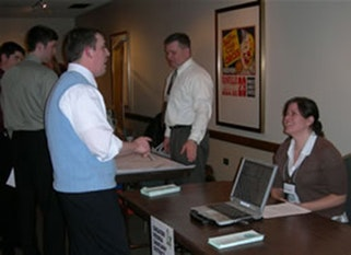 Geography Career Fair Stand