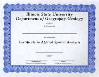 Certificate in GIS